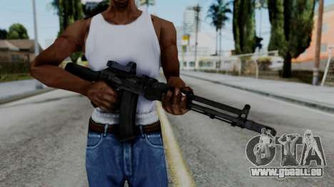Arma OA AK74-100 pour GTA San Andreas troisième écran