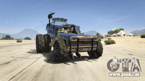 GTA 5 Mad Max The Gigahorse Rückansicht