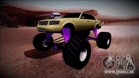 GTA 4 Washington Monster Truck pour GTA San Andreas