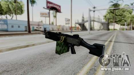 MG4 pour GTA San Andreas deuxième écran