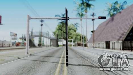 Deadpools Sword pour GTA San Andreas deuxième écran