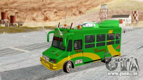 Iveco Turbo Daily Buseton v2 Flota Rionegro pour GTA San Andreas sur la vue arrière gauche