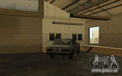 Die garage an den docks für GTA San Andreas her Screenshot