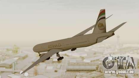 Boeing 777-9x Etihad Airways pour GTA San Andreas laissé vue