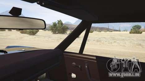 GTA 5 1970 Porsche 914 arrière droit vue de côté