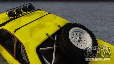 Nissan Skyline R34 Rusty Rebel pour GTA San Andreas vue de droite