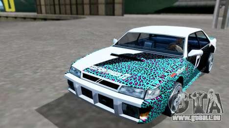 Sultan 4 Drift Drivers V2.0 pour GTA San Andreas vue de droite