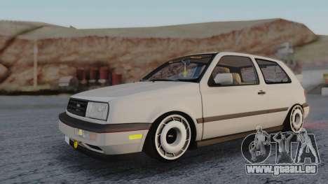 Volkswagen Golf Mk3 pour GTA San Andreas