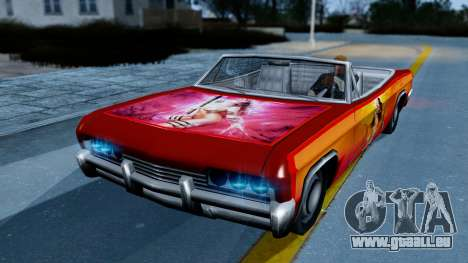 Slamvan New PJ für GTA San Andreas
