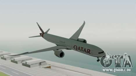 Boeing 777-9x Qatar Airways pour GTA San Andreas