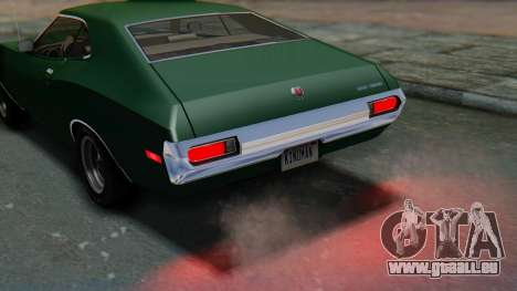 Ford Gran Torino Sport SportsRoof (63R) 1972 IVF pour GTA San Andreas vue arrière