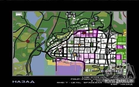 Voyage sur la route 1.0 pour GTA San Andreas cinquième écran