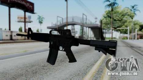 M16 A2 Carbine M727 v1 pour GTA San Andreas deuxième écran
