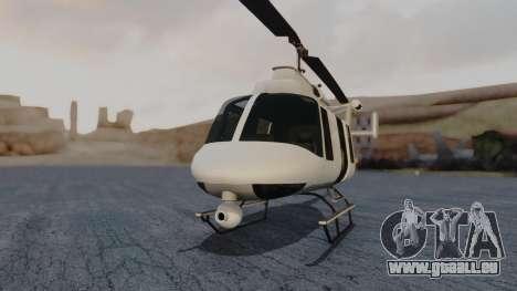 GTA 5 Buckingham Maverick pour GTA San Andreas vue de droite