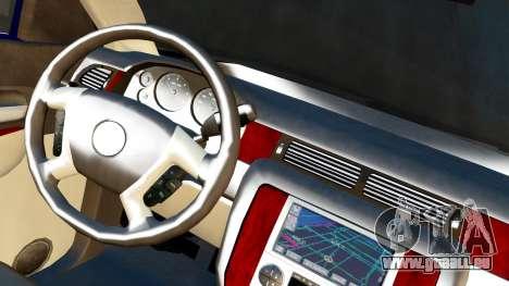 GMC Yukon Denali 2015 für GTA San Andreas zurück linke Ansicht