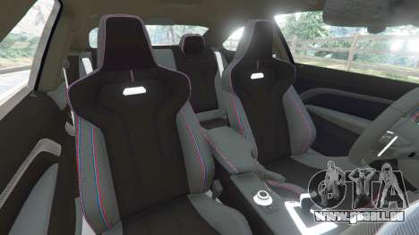 GTA 5 BMW M4 (F82) [LibertyWalk] v1.1 droite vue latérale