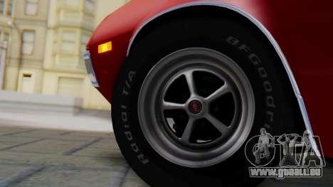 Ford Gran Torino Sport SportsRoof (63R) 1972 PJ1 für GTA San Andreas zurück linke Ansicht