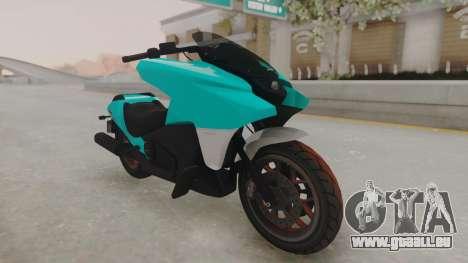 GTA 5 Dinka Vindicator SA Light pour GTA San Andreas vue de droite