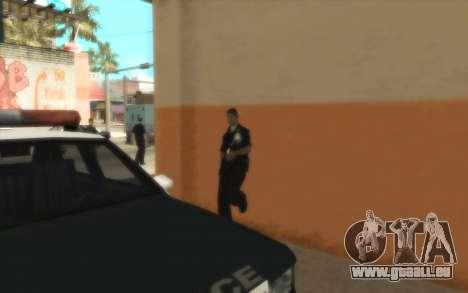 Police De La C. R. A. S. H pour GTA San Andreas quatrième écran
