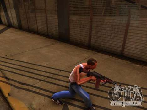Realistische animation 2016 für GTA San Andreas dritten Screenshot
