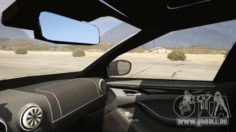 GTA 5 2014 Police Skoda Octavia VRS Estate arrière droit vue de côté