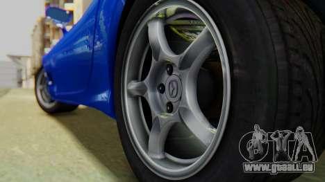 Mazda RX-7 1993 v1.1 pour GTA San Andreas vue arrière