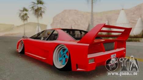 Turismo Saber X für GTA San Andreas rechten Ansicht