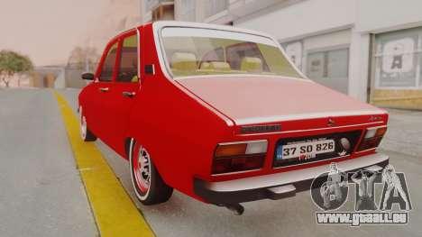 Renault 12 Toros v2 pour GTA San Andreas laissé vue