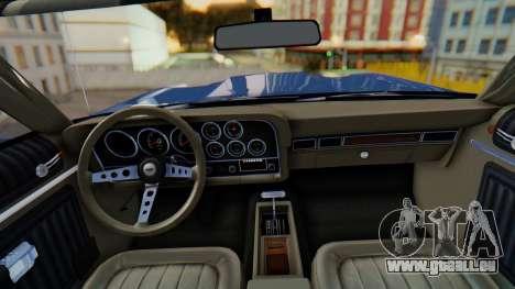 Ford Gran Torino Sport SportsRoof (63R) 1972 IVF pour GTA San Andreas sur la vue arrière gauche