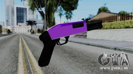 Purple Escopeta für GTA San Andreas zweiten Screenshot
