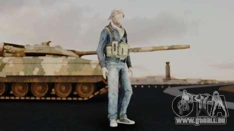 Somalia Militia Desert Camo pour GTA San Andreas deuxième écran