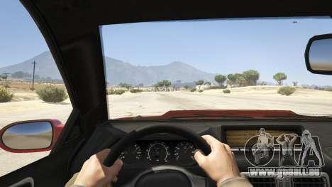 GTA 5 GTA 4 Feltzer vue arrière