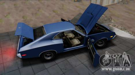 Ford Gran Torino Sport SportsRoof (63R) 1972 IVF für GTA San Andreas Rückansicht