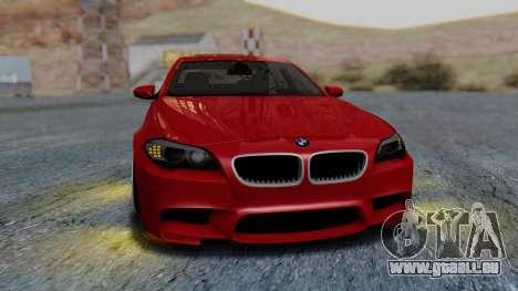 BMW M5 2012 Stance Edition für GTA San Andreas Seitenansicht