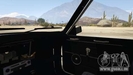 GTA 5 Peykan Vanet hinten rechts