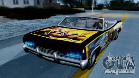 Slamvan New PJ für GTA San Andreas linke Ansicht