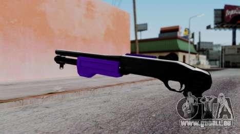 Purple Spas-12 pour GTA San Andreas deuxième écran