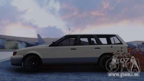 GTA 5 Vulcar Ingot für GTA San Andreas zurück linke Ansicht