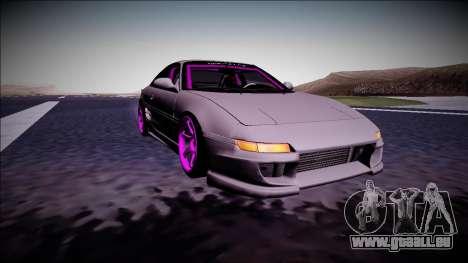 Toyota MR2 Drift Monster Energy pour GTA San Andreas vue arrière