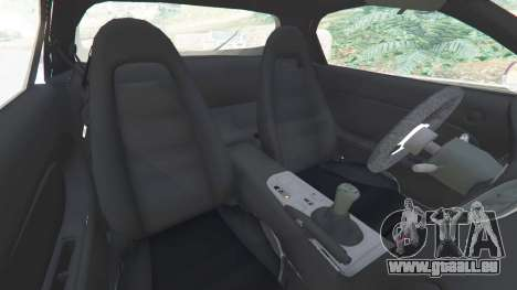 GTA 5 Mazda RX-7 FD3S Stanced [with camber] v1.1 rechte Seitenansicht