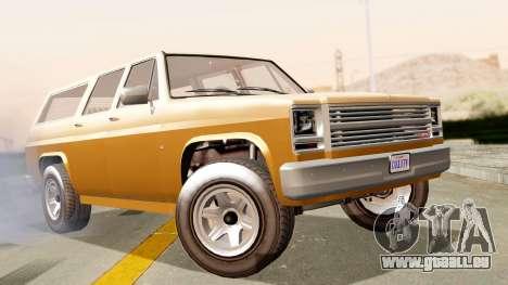 GTA 5 Declasse Rancher XL für GTA San Andreas