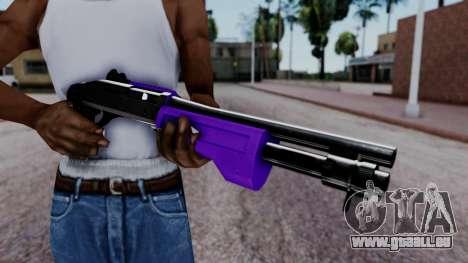 Purple Spas-12 pour GTA San Andreas troisième écran