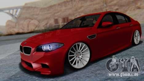 BMW M5 2012 Stance Edition für GTA San Andreas rechten Ansicht