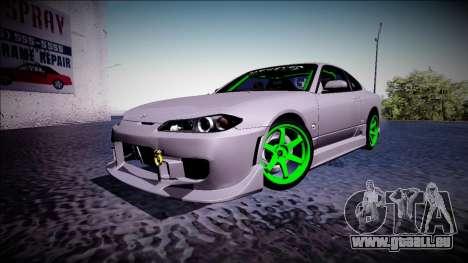 Nissan Silvia S15 Drift Monster Energy für GTA San Andreas