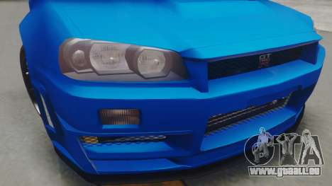 Nissan Skyline GT-R 2005 Z-Tune pour GTA San Andreas vue de droite