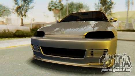 Honda Civic Vti 1994 V1.0 IVF für GTA San Andreas Rückansicht
