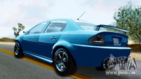 GTA 5 Declasse Premier pour GTA San Andreas laissé vue
