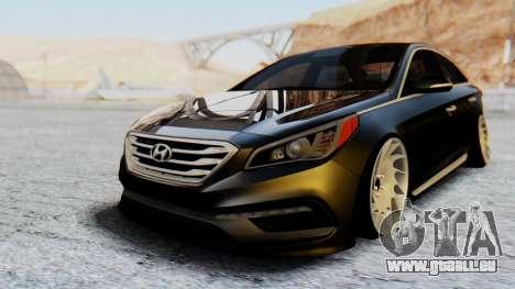 Hyundai Sonata Turbo 2015 pour GTA San Andreas