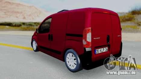 Peugeot Bipper für GTA San Andreas linke Ansicht