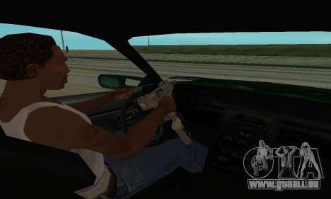 Nissan Skyline R34 Sunray (FlatOut 2) für GTA San Andreas Rückansicht